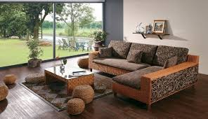 indoor rattan sofa best sectional sofas l form sofakoe info