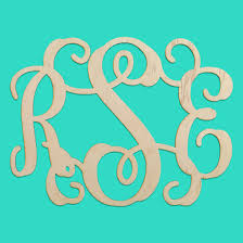 3 initial monogram fonts 3 initial wooden monogram unfinished 14 dba monogram