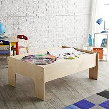 little colorado play table amazon com little colorado handcrafted play table unfinished