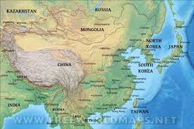 asia east map east asia by freeworldmaps net