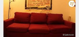 le bon coin canape leboncoin annonce pleine d amour et d humour pour un canapé