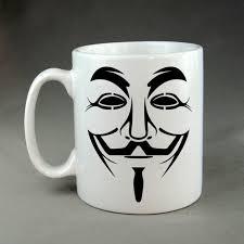 Guy Fawkes Mask Meme - anonymous funny geek gaming nerd mug meme guy fawkes mask