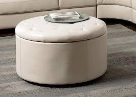 captivating large round storage ottoman with storage ottomans