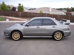 grey subaru 06 u0027 sti steel grey w gold pics i club
