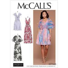 flutter style dress misses v neck ruffle and cape style flutter sleeve dresses mccalls