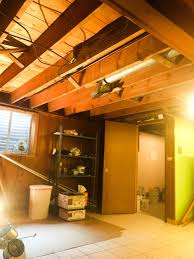Basement Ceiling Paint Diy Painted Basement Ceiling Project U2014 First Thyme Mom