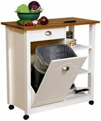 kitchen island trash kitchen island with garbage bin foter