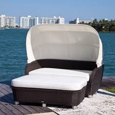 Outdoor Daybed With Canopy St Tropez Resort Style Outdoor Daybed