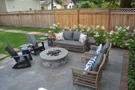 patio u0026 outdoor elegant backyard patio design with stone