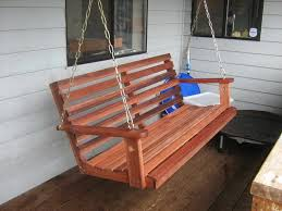 outdoor awesome wood porch swing outdoor swing chair patio gliders