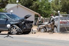 johnson lexus collision woman killed in hesperia crash tuesday morning victor valley