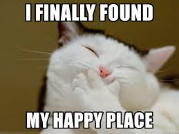 Happy Place Meme - i finally found my happy place awe shucks meme generator
