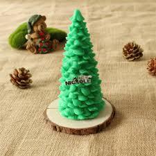 christmas tree shape handmade silicone custom candle making dies