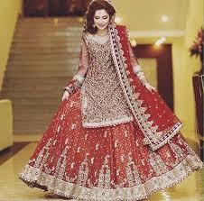 wedding dress in pakistan 25 beautiful bridal wedding dresses 2017 18 stylo