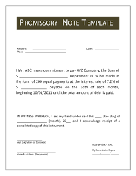 45 free promissory note templates u0026 forms word u0026 pdf template lab