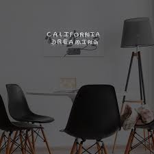 california dreaming neon light real neon signs touch modern