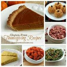gluten free thanksgiving recipes including the shopping list and the