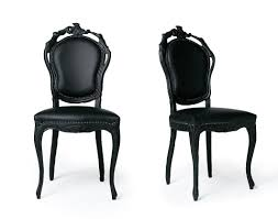 french italian painted chairs black leather chairs closet