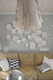 How To Decorate A Chandelier How To Hang Plates On The Wall