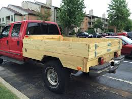 Ford F250 Used Truck Bed - new wooden bed diesel forum thedieselstop com