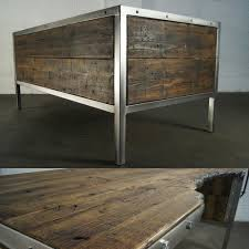 Handmade Office Furniture by Handmade Industrial Polished Metal Office Desk Rustic Old Retro By