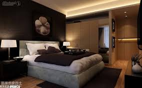 modern master bedroom designs black wooden four drawers dressing