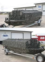 Duck Boat Blind Pictures Sw Marine Palo Iowa Drake Standard Boat Blinds