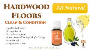 Wood Floor Cleaner Diy Living Essential Oils Hardwood Floor Cleaner Conditioner
