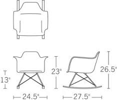 Design Within Reach Eames Chair 8 Best Charles Eames Rar Plastic Rocking Chair Images On Pinterest