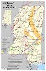 Mississippi State Map Mississippi A Reliable Energy State Mda