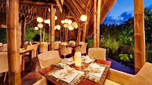 Balinese Dining Table Premier Villa Langit Living Room Dining Kitchen Loversiq
