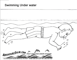 download coloring pages swimming coloring pages swimming