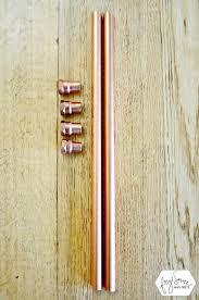 Copper Curtain Rods Diy Copper Pipe Curtain Rod