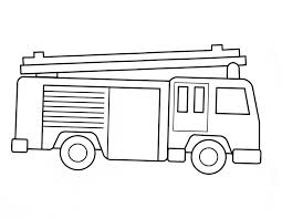 click to see printable version of fire truck coloring page fire