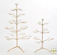 ornament display trees 25 silver or gold ornament