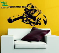 Video Game Home Decor Online Get Cheap Gamer Stickers Aliexpress Com Alibaba Group