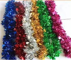 christmas tinsel christmas decorations glitter tinsel christmas decorations