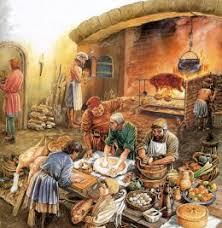 histoire de la cuisine fran軋ise au moyen age organisation d un dîner banquet pour vingt écuelles