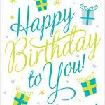 card invitation design ideas happy birthday to you printable