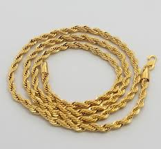plated chain necklace images 24k gold necklace ttdn2 4mm twisted singapore chain 24k gold jpg