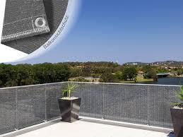 balkon sichtschutz grau büro wohnen und betrieb floordirekt de