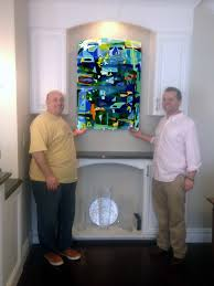 colorful fused glass wall art panel designer glass mosaics we created this colorful abstract wall mural in fused glass for our client in boston ma to achieve the final dimensions of 30 wide x 42 high we created