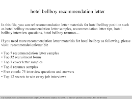 Job Resume For Hotel by Bellboy Resume Resume For Your Job Application