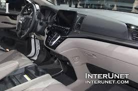 Honda Odyssey Interior 2018 Honda Odyssey Elite Interunet