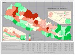 Maps Nepal by Agriculture Central Bureau Of Statistics