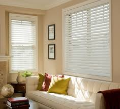 2 Inch White Faux Wood Blinds Faux Wood Blinds 2 1 2