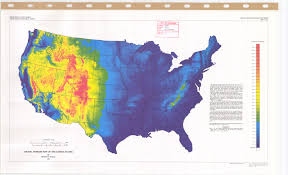 Images Of The Map Of The United States by Digital Terrain Map Of The United States Esdac European Commission