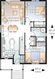 Two Bedroom Houses 1108 Best Floor Plans Images On Pinterest House Floor Plans