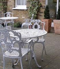 Iron Patio Table Set For A My Garden Garden Pinterest Iron