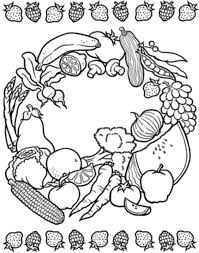 fruit coloring pages fruit coloring pages free fruits mandala